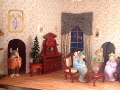 Mouse sitting room