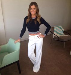 Bachelorette Jojo wearing Ramy Brook pants on her trip with the boys to Uruguay