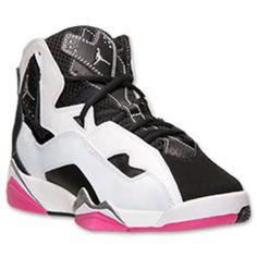 31bc9878512 Girls  Grade School Jordan True Flight Basketball Shoes Jordan Outfits