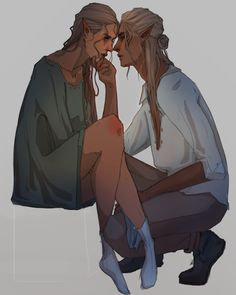 """  ZEVRAN + INDESS   Dragon Age: Origins   """"You're so much stronger than you know."""""""