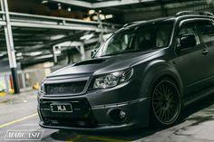 Matte Subaru Forester