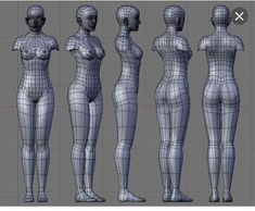 Being a woman is so underrated. We never really get the proper acknowledgment that we deserve for all that we endure. We are the underdog. Body Reference Drawing, Anatomy Reference, Female Reference, Maya Modeling, Modeling Tips, 3d Model Character, Character Modeling, Character Concept, Wireframe