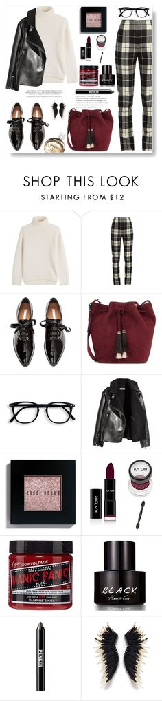 """""""Friday mood"""" by gul07 ❤ liked on Polyvore featuring Vince, MaxMara, Loeffler Randall, Bobbi Brown Cosmetics, Manic Panic NYC, Kenneth Cole, Ardency Inn and Chanel"""