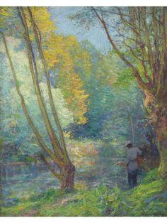 Robert William Vonnoh  (1858-1933) o/c