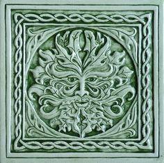 Great Pics Ceramics Tile relief Tips Installing tile is usually tricky. Prosperous tiling job is a primary response to beneficial plannin Azulejos Art Nouveau, Art Nouveau Tiles, Celtic Green, Celtic Art, Celtic Symbols, Celtic Designs, Ceramic Decor, Decorative Tile, Tile Art