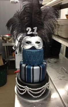 Masquerade Cake I REALLY WANT THIS FOR MY 21st!