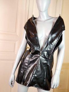 Black dress size 8 rubber