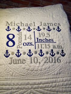 Quilted Baby Blanket, Crib Blanket, Baby Blankets, Baby Boy Themes, Outdoor Baby, Baby Monogram, Rustic Baby, Personalised Blankets, New Baby Gifts