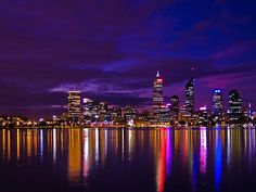 Awesome city lights