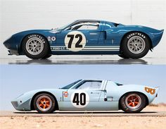 Ford & Ford - Hoje e Ontem ! Classic Sports Cars, Classic Cars, Supercars, Automobile, Le Mans 24, Ford Gt40, Vintage Race Car, Sweet Cars, Car Ford