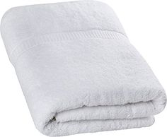 Utopia Towels - Luxurious Jumbo Bath Sheet x 70 Inches, White) - 600 GSM Ring Spun Cotton Highly Absorbent and Quick Dry Extra Large Bath Towel - Super Soft Hotel Quality Towel Best Bath Towels, Bathroom Towels, Cots For Sale, Large Baths, Massage Room, Bath Sheets, White Towels, Luxury Bath, Kitchen On A Budget