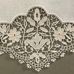 Needle Lace, Bobbin Lace, Lacemaking, Linens And Lace, Let Them Talk, High Level, Needlework, Traditional, Embroidery