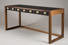 Barrett Desk : Dennis Miller Associates Fine Contemporary Furniture, Lighting and Carpets in NYC