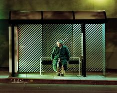 San Francisco Bus Stop Photographer: Nathan Perkel