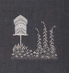Jo Butcher, Embroidery Artist - Bird House