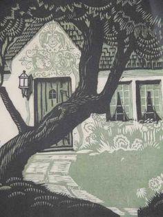 Charles Turzak, woodcut
