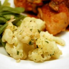Roasted Garlic Cauliflower Allrecipes.com