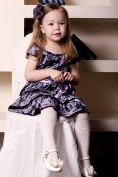 ALALOSHA: VOGUE ENFANTS: Child Model of the Day Daria