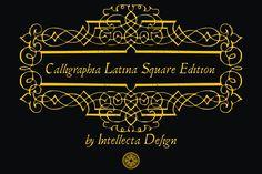 Calligraphia Latina Square Edition by Intellecta Design on @creativemarket