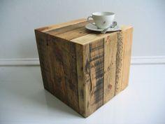Würfel aus Palettenholz - Produktwerft