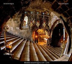 The Tomb Of Mary Inside Church Of Assumption At Kidron (Hinnom) Valley, Jerusalem