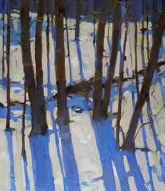 trees, snow, light, shadow.....http://www.pinterest.com/indebat/enjoy-the-outdoors-be-inspired/