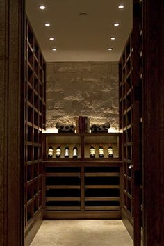 The dream walk in humidor beer taps and wine cellar for Walk in wine cellars