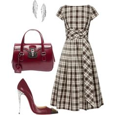 Helia's style theory by heliaamado on Polyvore featuring Michael Kors, Christian Louboutin, Gucci and LeiVanKash