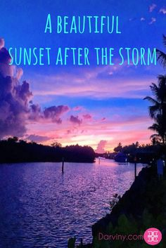 A #beautiful #sunset after the storm #fall is here in #Florida #floridalifestyle #keylargo #lifeisgood #imhappy #alwaysgrateful  Download my free ebook: https://beautiful.darviny.com/