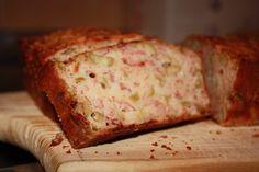 Recetas sanas y fáciles con microondas: Pastel de jamón y aceitunas