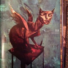 """From the book """"the Alchemy of Mirrormask"""" Dave McKeen for the Neil Gaiman film"""