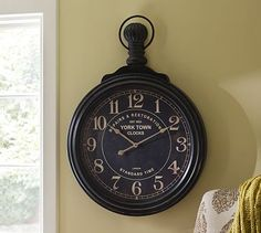 Excited about this!!! It will arrive next week. York Town Clock #potterybarn