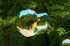 A lovely picture of a bubble I took in Berlin