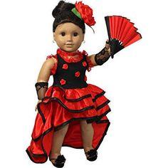 american girl doll dresses - Google Search