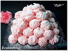 "Raspberry Marshmallow ""Zefir"". This is Russian traditional dessert. Easy, air delicacy, made ​​by whipping egg whites with sugar and added agar syrup. Great for parties, weddings. It's easy and fast to make, in less than 1 hour."