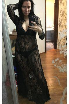 6852158f104 Maternity Fashion - prim maternity dresses   Sevozimda Womens Maxi Dress V  Neck Lace Crochet Sheer