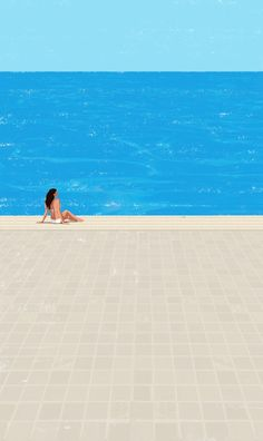 Art Print by RaphaA<<lle Martin - X-Small Swimming Posters, Anime Comics, 3 Arts, Retro Art, Affordable Art, Studio Ghibli, Digital Illustration, Framed Art Prints, Illustrations