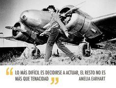 Amelia Earhart.