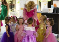 someday I'll have a princess party with my little girl.  I've always wanted to be belle or show white :) Em would love it.  She says princess party for when she turns 5