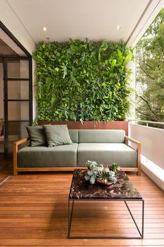 Small Balcony Design, Vertical Garden Design, Patio Interior, Interior Design, Beach House Bathroom, Balkon Design, Small Outdoor Spaces, House Plants Decor, Bathroom Design Luxury