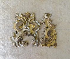 18th Century Gilded French Fragments from by DuncanGrantAntiques