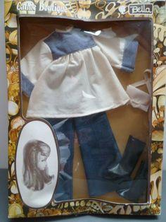 Veste Et Chemisier Tenue Neptune 1981 Poupées, Vêtements, Access. Pour Cathie De Bella