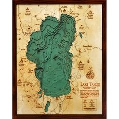 Lake Tahoe Wood Chart