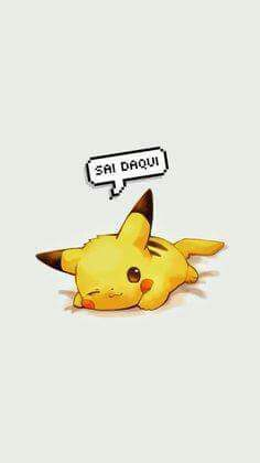 Tap image for more funny cute Pikachu wallpaper! Pikachu - Wallpapers for iPhone iPhone 6 & 6 plus Cute Pokemon Wallpaper, Cute Disney Wallpaper, Cute Cartoon Wallpapers, Animes Wallpapers, Cute Images For Wallpaper, Cute Anime Wallpaper, Pikachu Pikachu, O Pokemon, Pokemon Anime Characters