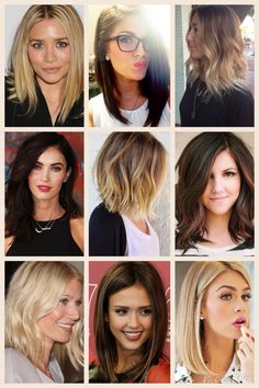 "Obsessed with soft ombré/sombre hair color and the ""lob"" haircut! Styling tips and photo collage on the blog! http://thechampagnesalwayscold.blogspot.com/2015/03/taming-ombre-lob.html?m=1 // brunette blonde highlights baylage bob long bob hair style cut fade natural pretty best 2015 spring summer short medium shoulder length"