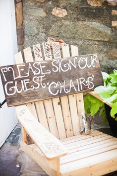 Guest book adirondack chairs creative guest book ideas for wedding