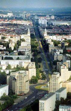 Eerie walk in Berlin