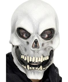 NEW Halloween Scary Skull Mask Creepy Realistic Horror Fancy Dress Unisex Latex in Clothes, Shoes & Accessories, Fancy Dress & Period Costume, Accessories   eBay
