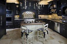 43 Dramatic black kitchens that make a bold statement