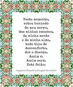 Magia no Dia a Dia: Afirmação Positiva  http://magianodiaadia.blogspot.com.br/2016/12/afirmacao-positiva_18.html